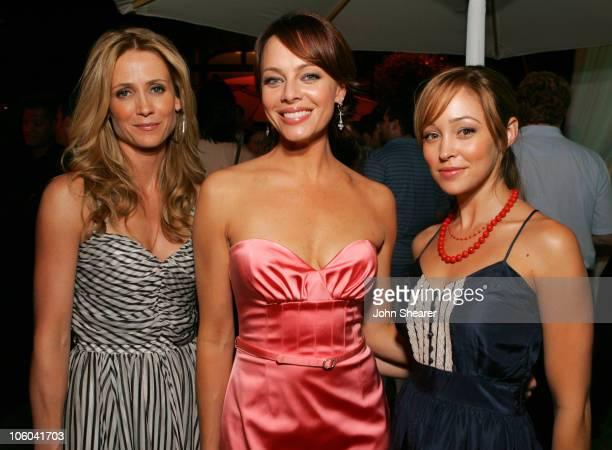 Kelly Rowan Melinda Clarke and Autumn Reeser during 2006 Fox TCA Party Inside at Ritz Carlton in Pasadena California United States