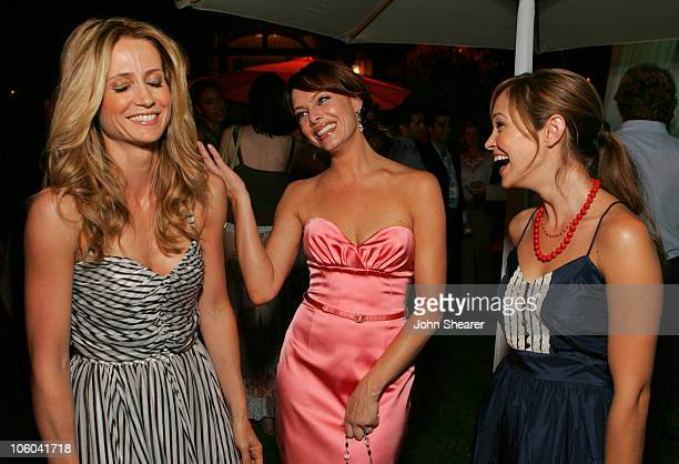 Kelly Rowan Melinda Clarke and Autumn Reeser during 2006 Fox TCA Party Inside at Ritz Carlton in Pasadena California United States