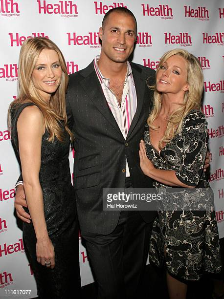 Kelly Rowan Nigel Barker and Jane Krakowski during Jane Krakowski CoHosts and Performs at Health Magazine's Beauty Awards at Mandarin Oriental Hotel...