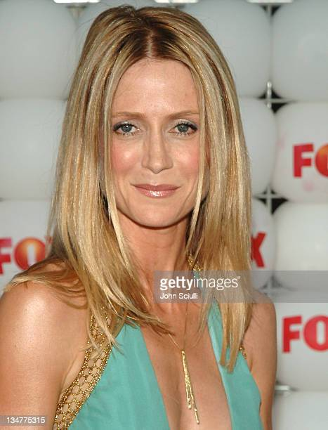 Kelly Rowan of The OC during FOX Summer 2005 AllStar Party Red Carpet at Santa Monica Pier in Santa Monica California United States