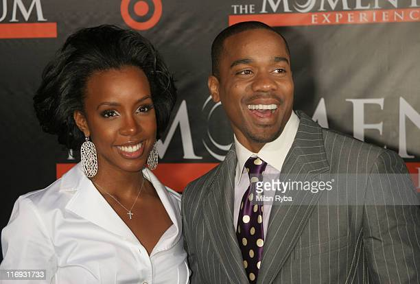 "Kelly Rowland and Duane Martin during ""The Seat Filler"" Los Angeles Premiere at El Capitan Theatre in Hollywood, California, United States."