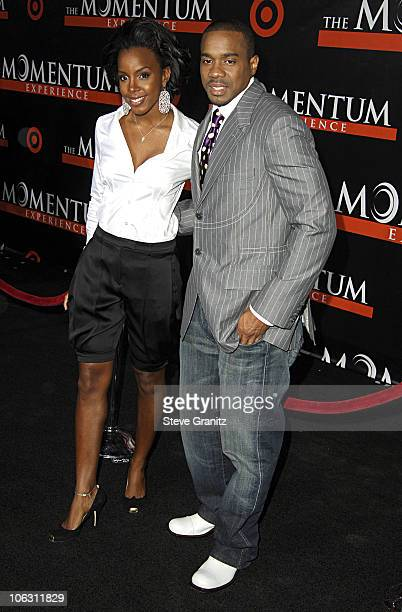 "Kelly Rowland and Duane Martin during ""The Seat Filler"" Los Angeles Premiere - Arrivals at El Capitan Theatre in Hollywood, California, United States."
