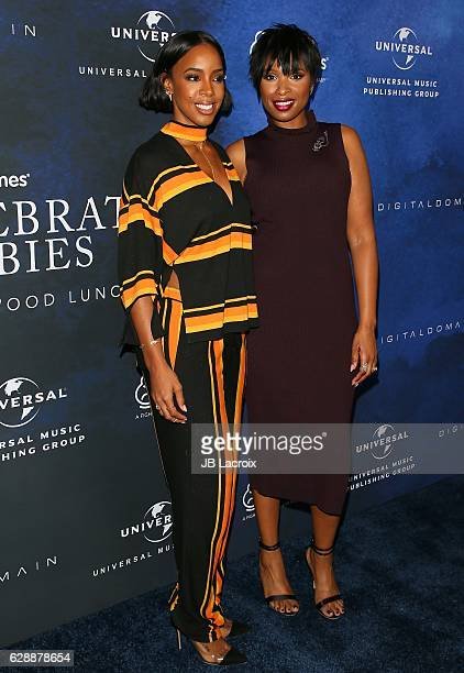 Kelly Rowland and Jennifer Hudson attend 2016 March of Dimes Celebration of Babies at the Beverly Wilshire Four Seasons Hotel on December 9 2016 in...