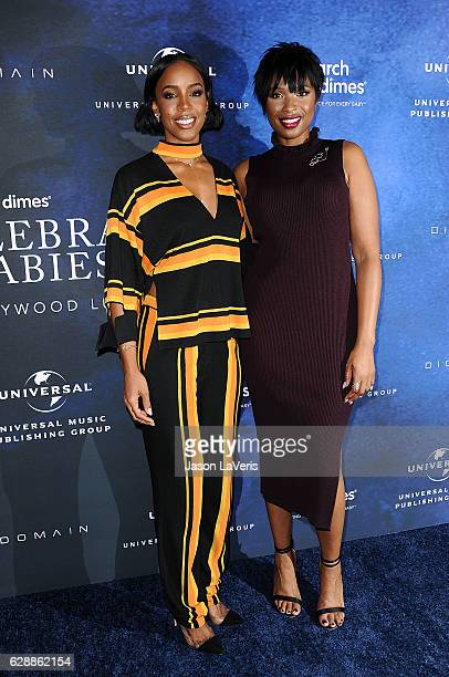 Kelly Rowland and Jennifer Hudson attend the 2016 March of Dimes Celebration of Babies at the Beverly Wilshire Four Seasons Hotel on December 9 2016...