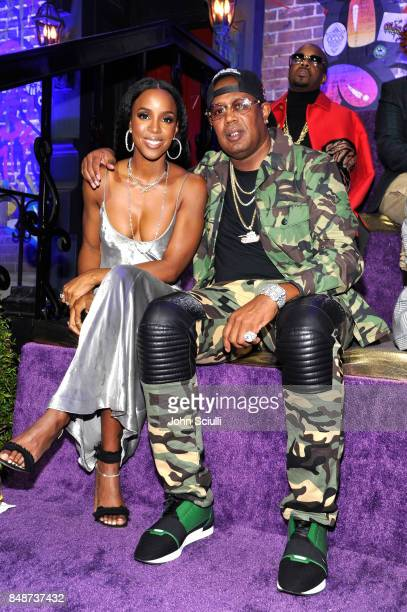 Kelly Rowland and Master P attend VH1 Hip Hop Honors The 90s Game Changers at Paramount Studios on September 17 2017 in Los Angeles California