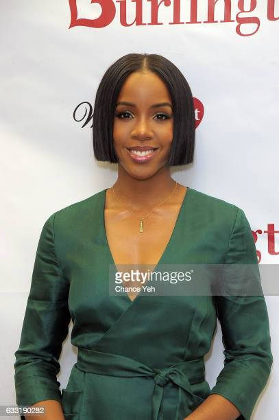 Kelly Rowland and WomenHeart team up with Burlington to #KnockOutHeartDisease at Burlington Union Square on January 31, 2017 in New York City.