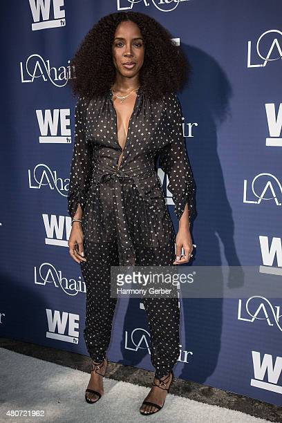 Kelly Rowland arrives at Avalon Hollywood on July 14 2015 in Los Angeles California