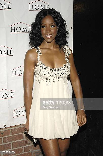 Kelly Rowland arrives at her Ms Kelly Album Release Party and LIFEbeat AIDS Benefit July 10 2007 in New York City