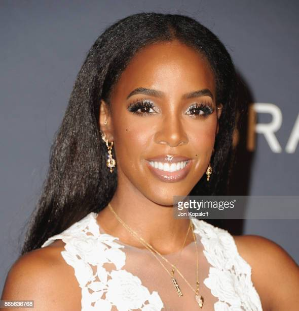 Kelly Rowland arrives at the 3rd Annual InStyle Awards at The Getty Center on October 23 2017 in Los Angeles California