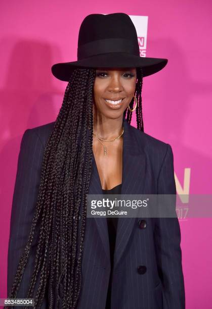 Kelly Rowland arrives at the Billboard Women In Music 2017 at The Ray Dolby Ballroom at Hollywood Highland Center on November 30 2017 in Hollywood...