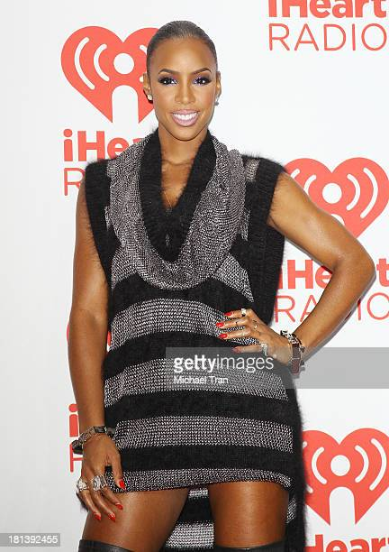 Kelly Rowland arrives at the iHeartRadio Music Festival press room held at MGM Grand Arena on September 20 2013 in Las Vegas Nevada