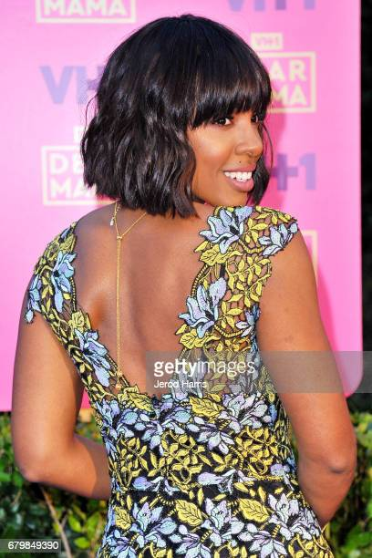 Kelly Rowland arrives at VH1's 2nd Annual 'Dear Mama An Event To Honor Moms' at The Huntington Library on May 6 2017 in Pasadena California