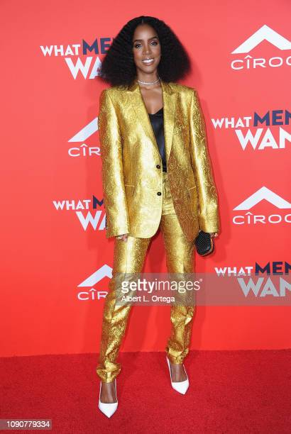 Kelly Rowland arrives for Paramount Pictures' What Men Want Premiere held at Regency Village Theatre on January 28 2019 in Westwood California