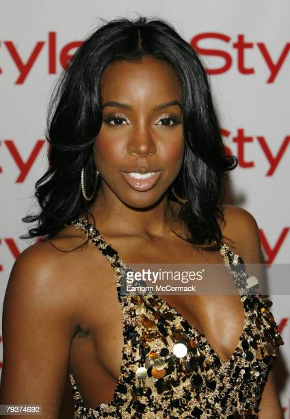 Kelly Rowland at the Instyle Best Beauty Buys Awards 2008 at Sketch on January 29, 2008 in London, England.