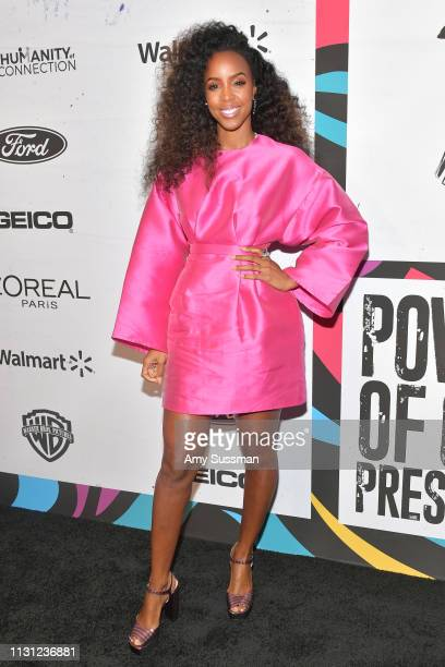 Kelly Rowland attends 2019 Essence Black Women In Hollywood Awards at the Beverly Wilshire Four Seasons Hotel on February 21 2019 in Beverly Hills...