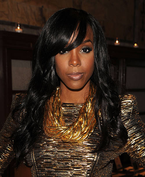 Kelly Rowland Attends Amfar Inspiration Gala At The New York Public Libaray On June 3