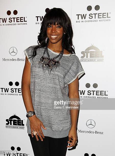 Kelly Rowland attends an event to celebrate Kelly Rowland and Dutch watch brand TW Steel 's new partnership on December 8 2011 in London United...