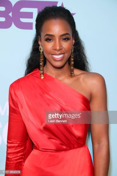 Kelly Rowland attends BET's American Soul Emmy FYC Screening Event on May 23 2019 in North Hollywood California