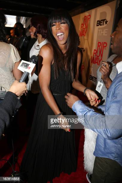 Kelly Rowland attends BET's Rip The Runway 2013 at Hammerstein Ballroom on February 27 in New York City
