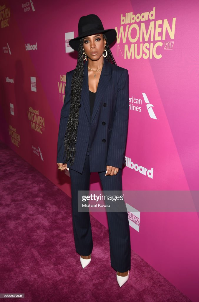 Kelly Rowland attends Billboard Women In Music 2017 at The Ray Dolby Ballroom at Hollywood & Highland Center on November 30, 2017 in Hollywood, California.