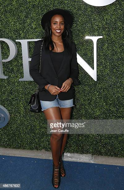 Kelly Rowland attends day five of the 2015 US Open at USTA Billie Jean King National Tennis Center on September 4 2015 in the Flushing neighborhood...