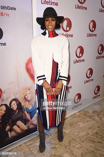 Kelly Rowland attends Love By The 10th Date Red Carpet Screening Panel Event at The London West Hollywood on January 23 2017 in West Hollywood...