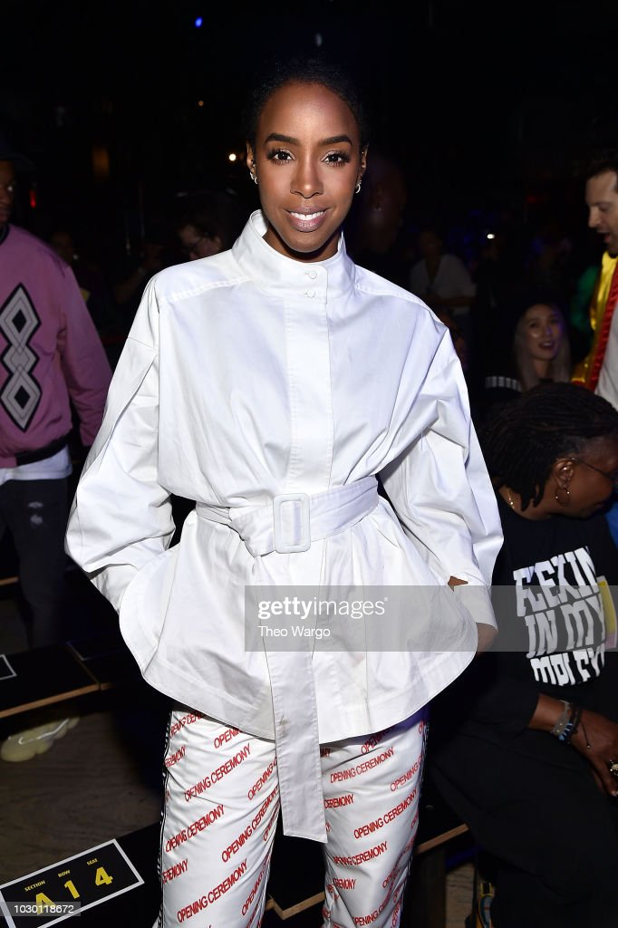 Kelly Rowland attends Opening Ceremony - Front Row - September 2018 - New York Fashion Week at Le Poisson Rouge on September 9, 2018 in New York City.