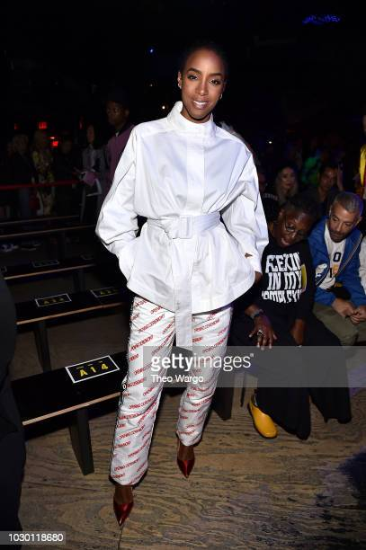 Kelly Rowland attends Opening Ceremony Front Row September 2018 New York Fashion Week at Le Poisson Rouge on September 9 2018 in New York City