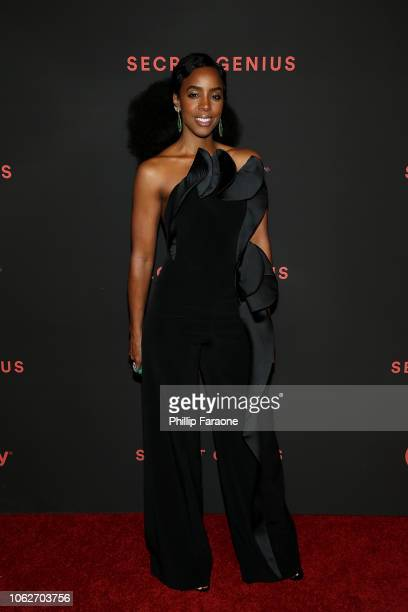 Kelly Rowland attends Spotify's 2nd annual Secret Genius Awards at The Theatre at Ace Hotel on November 16 2018 in Los Angeles California