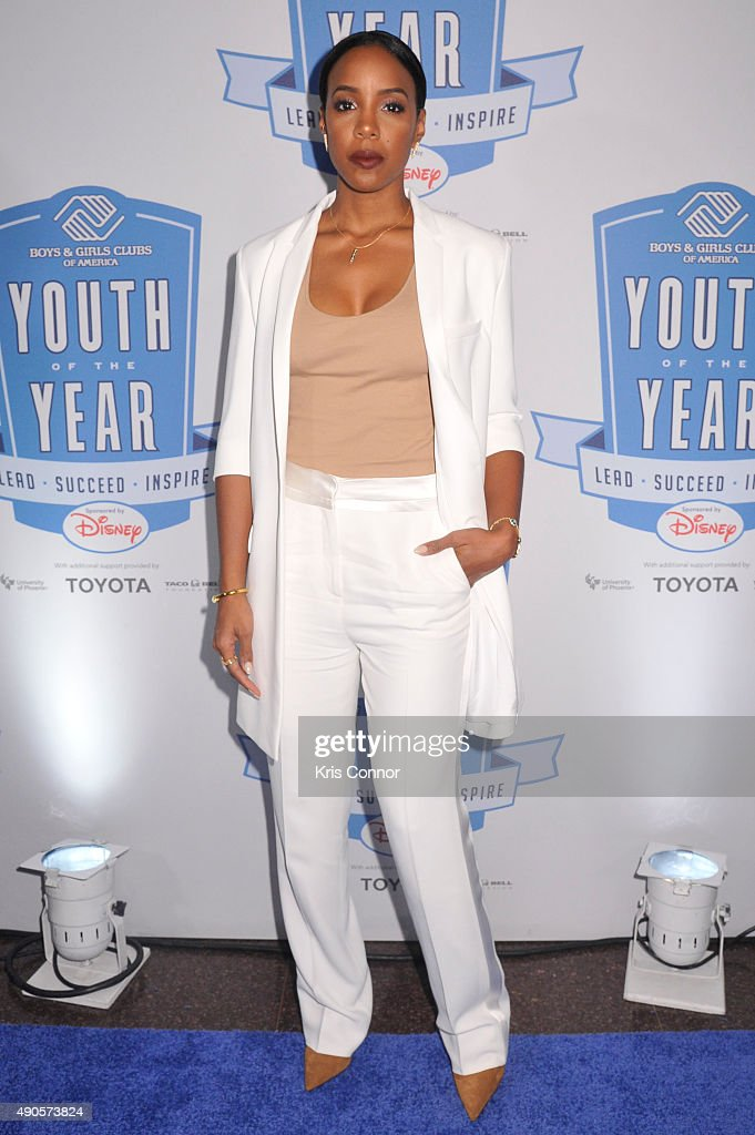 Kelly Rowland attends the 2015 Boys and Girls Clubs of America National Youth of the Year celebration at the National Building Museum on September 29, 2015 in Washington, DC.