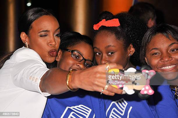 Kelly Rowland attends the 2015 Boys and Girls Clubs of America National Youth of the Year celebration at the National Building Museum on September 29...