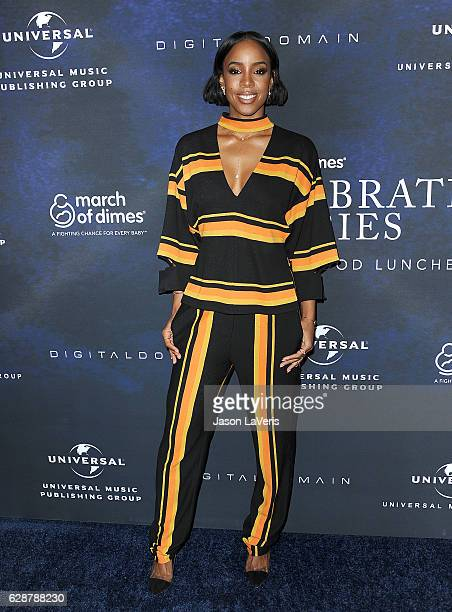 Kelly Rowland attends the 2016 March of Dimes Celebration of Babies at the Beverly Wilshire Four Seasons Hotel on December 9 2016 in Beverly Hills...