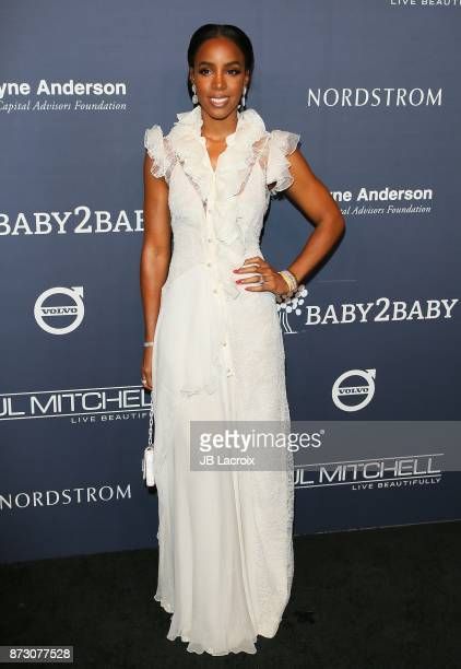 Kelly Rowland attends the 2017 Baby2Baby Gala on November 11 2017 in Los Angeles California