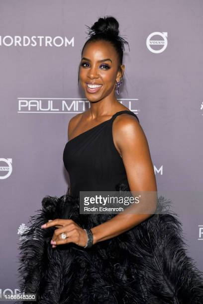 Kelly Rowland attends the 2019 Baby2Baby Gala Presented by Paul Mitchell at 3LABS on November 09, 2019 in Culver City, California.
