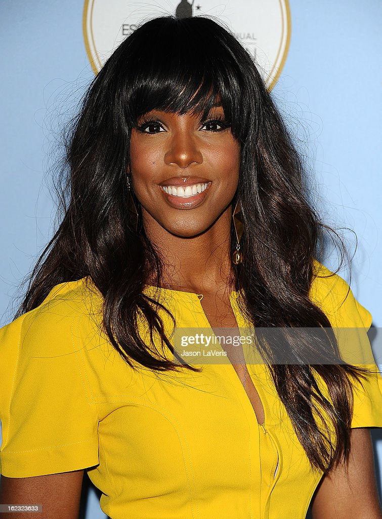Kelly Rowland attends the 6th annual ESSENCE Black Women In Hollywood awards luncheon at Beverly Hills Hotel on February 21, 2013 in Beverly Hills, California.