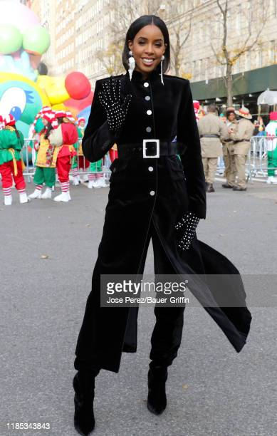 Kelly Rowland attends the 93rd Annual Macy's Thanksgiving Day Parade on November 28, 2019 in New York City.