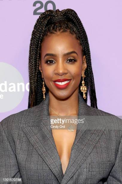 Kelly Rowland attends the Bad Hair premiere during the 2020 Sundance Film Festival at The Ray on January 23 2020 in Park City Utah