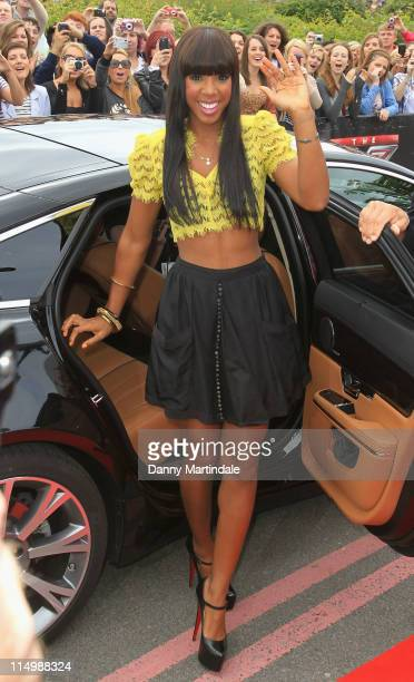 Kelly Rowland attends the Birmingham auditions of X Factor at LG Arena on June 1, 2011 in Birmingham, England.