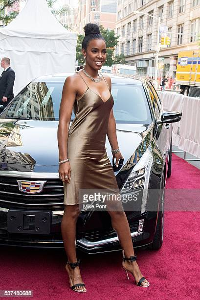 Kelly Rowland attends the Cadillac House grand opening at 330 Hudson St on June 1 2016 in New York City