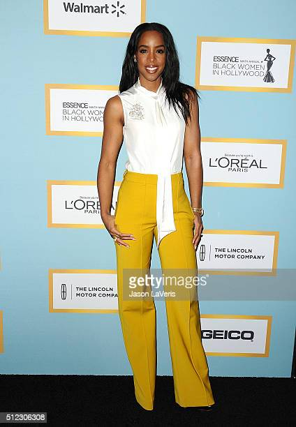 Kelly Rowland attends the Essence 9th annual Black Women In Hollywood event at the Beverly Wilshire Four Seasons Hotel on February 25 2016 in Beverly...