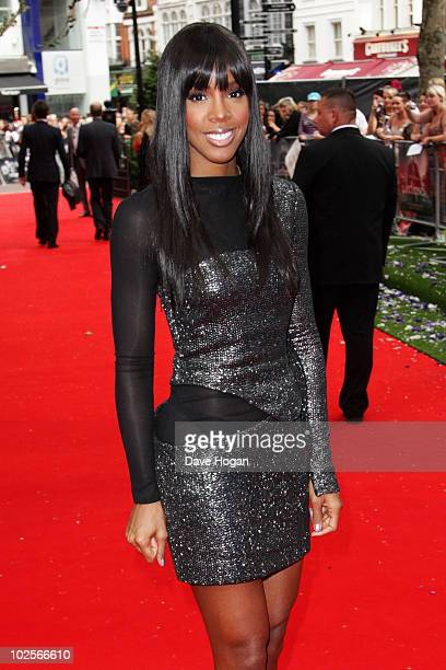 Kelly Rowland attends the Gala Premiere of The Twilight Saga Eclipse held at The Odeon Leicester Square on July 1 2010 in London England