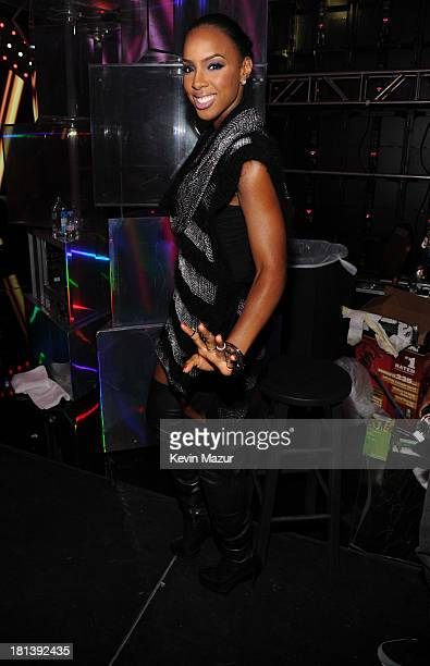 Kelly Rowland attends the iHeartRadio Music Festival at the MGM Grand Garden Arena on September 20 2013 in Las Vegas Nevada
