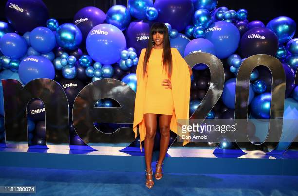 Kelly Rowland attends the Nine 2020 Upfronts on October 16, 2019 in Sydney, Australia.