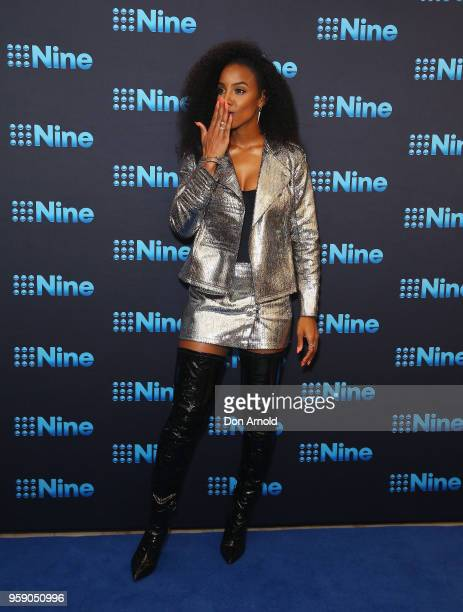 Kelly Rowland attends the Nine All Stars Event on May 16 2018 in Sydney Australia