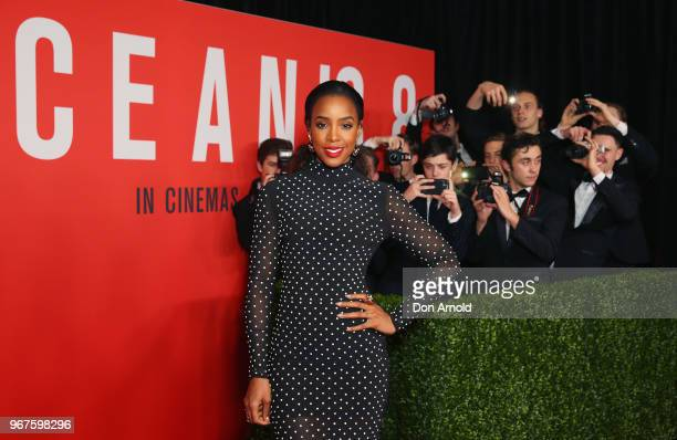 Kelly Rowland attends the Ocean's 8 Sydney Premiere on June 5 2018 in Sydney Australia