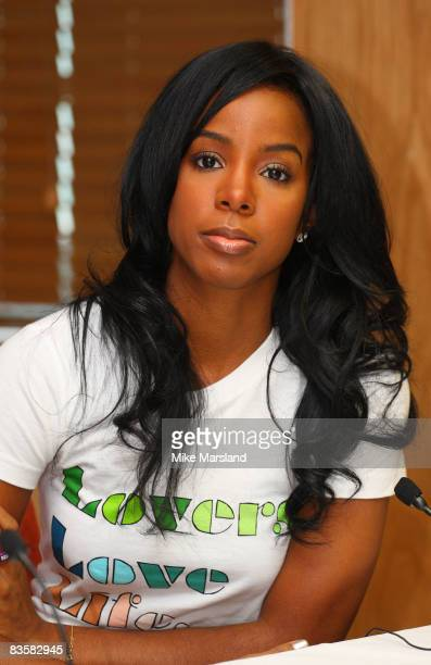 Kelly Rowland attends the press conference for 'Staying Alive' 10th Anniversary on November 6 2008 in Liverpool England