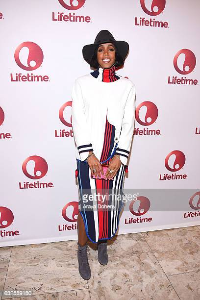 Kelly Rowland attends the screening and panel for Lifetime's 'Love By The 10th Date' at The London West Hollywood at Beverly Hills on January 23 2017...