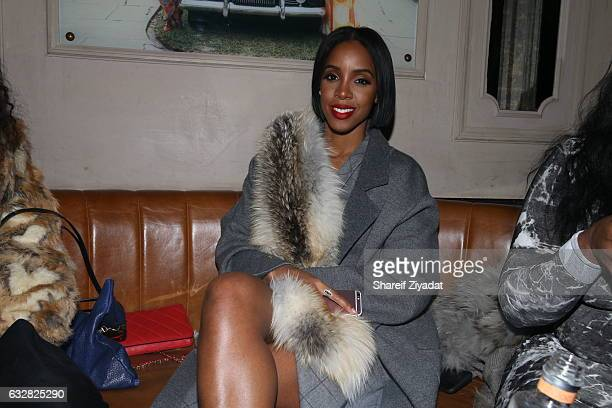 Kelly Rowland attends VIP Event Hosted By Migos on January 26 2017 in New York City