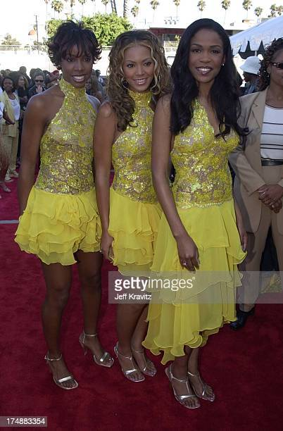 Kelly Rowland Beyonce Knowles and Michelle Williams of Destinly's Child