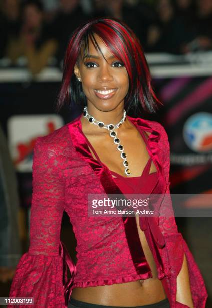 Kelly Rowland during NRJ Music Awards 2003 - Cannes - Arrivals at Palais des Festivals in Cannes, France.